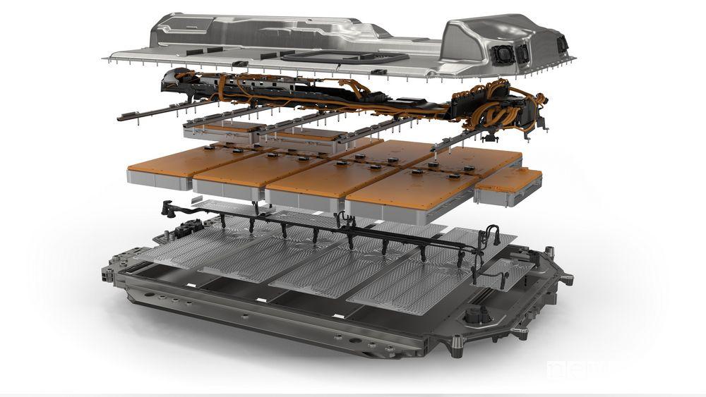 Batteria al litio BMW i4 eDrive40 elettrica
