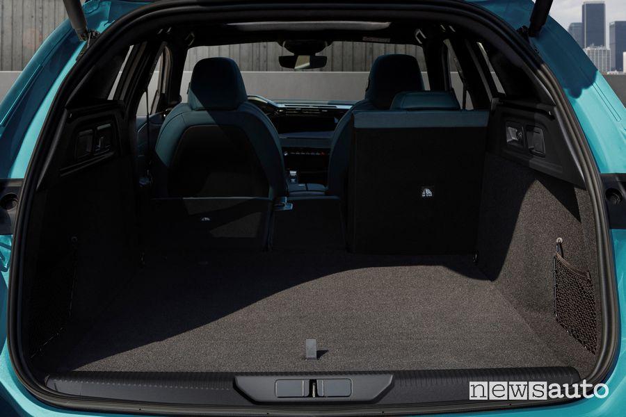 Bagagliaio nuova Peugeot 308 SW