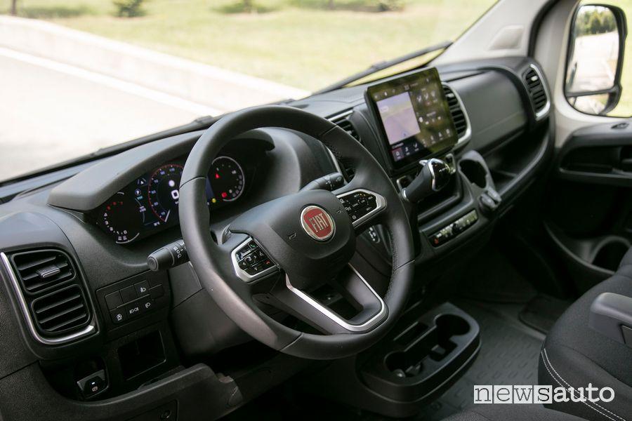 Volante abitacolo nuovo Fiat Ducato