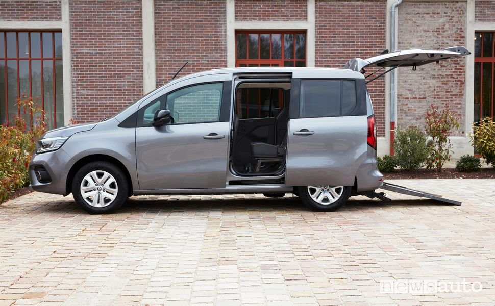 Rampa accesso disabili Renault Kangoo TPMR