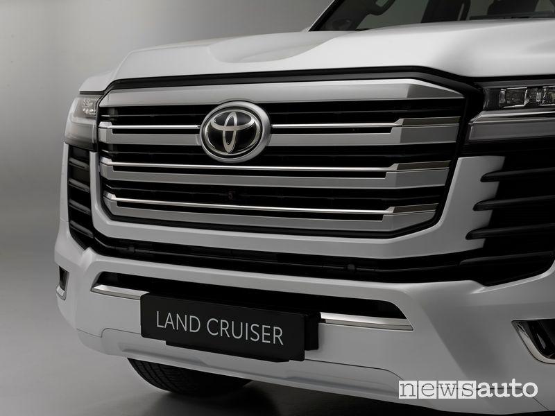 Calandra anteriore nuovo Toyota Land Cruiser 300