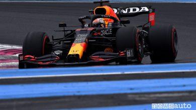 Qualifiche F1 Gp Francia 2021, la griglia di partenza