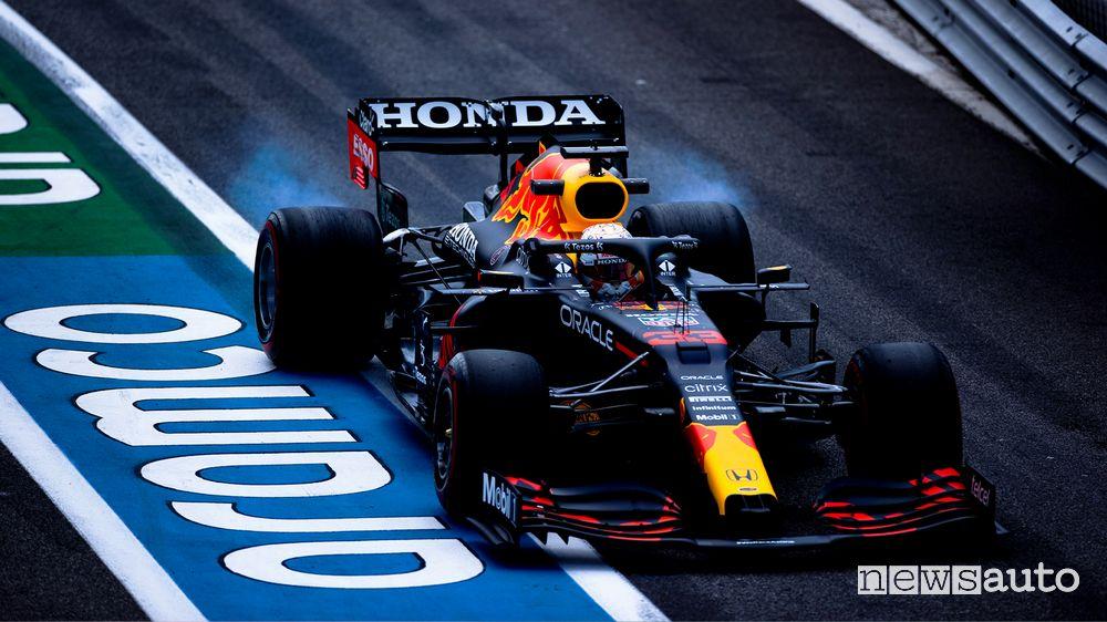 Qualifiche GP Francia 2021 pole Verstappen