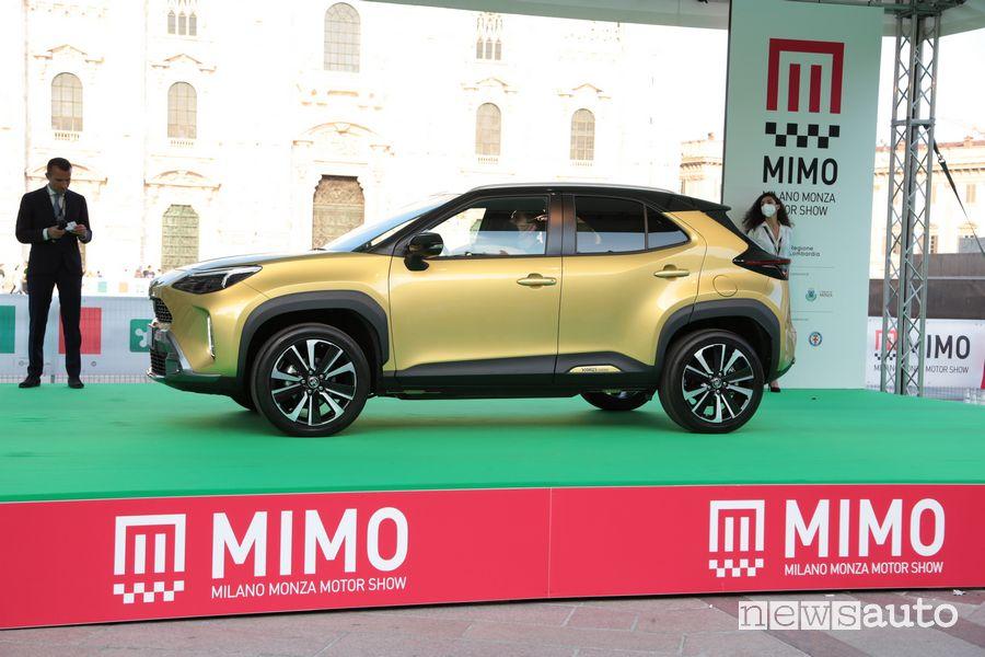 Debutto al MIMO per la nuova Toyota Yaris Cross