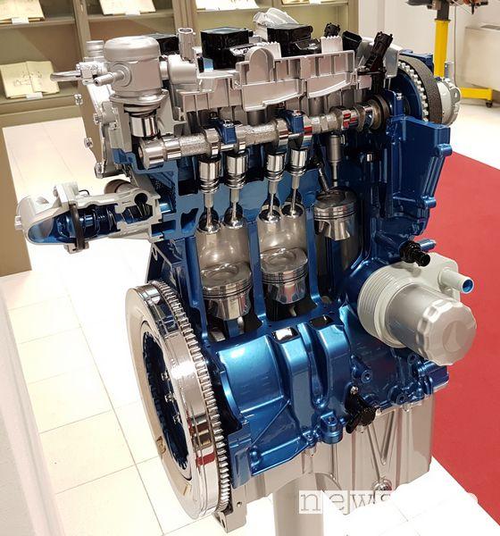 Motore Ford EcoBoost 1.0 3 cilindri