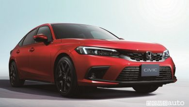 Nuova Honda Civic e:HEV