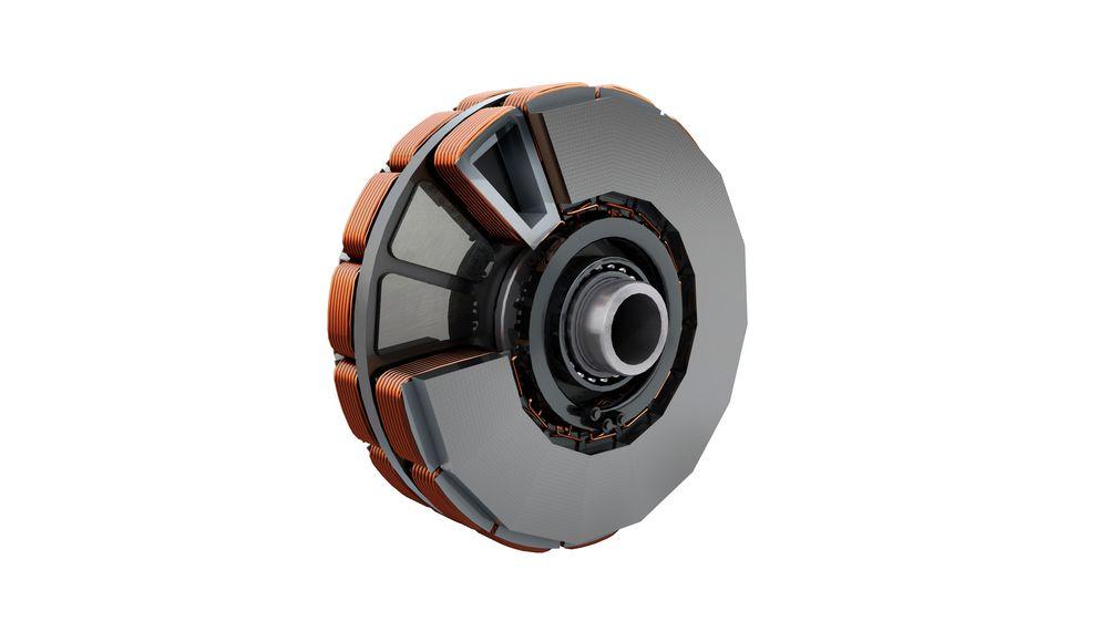 Rotore avvolto del nuovo motore sincroni Renault