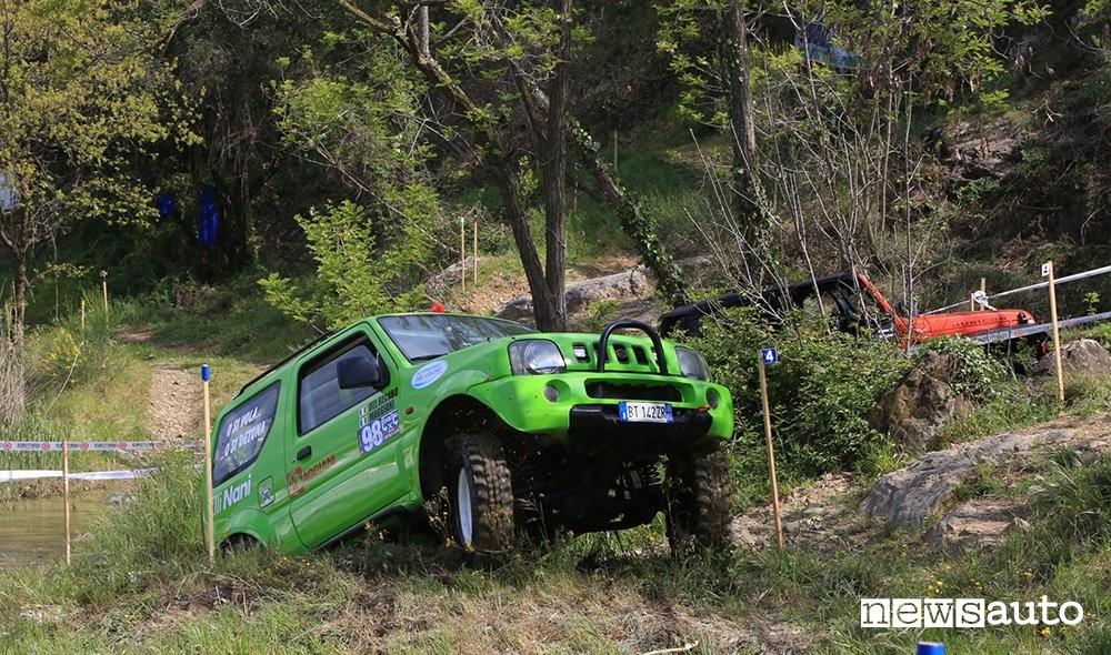 Fuoristrada in gara Campionato Italiano Trial 4x4 (Suzuki Jimny)