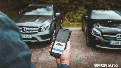 App noleggio auto a Milano, autonoleggio Virtuo con Mercedes-Benz
