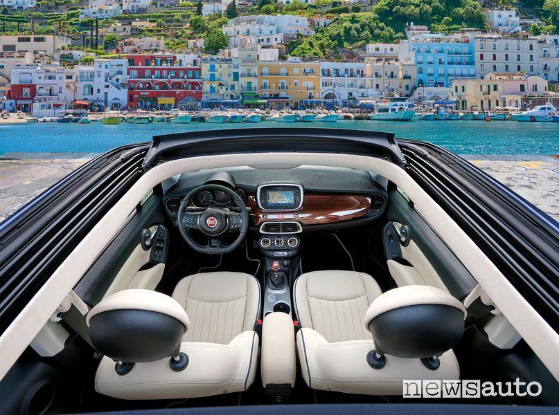 Abitacolo Fiat 500X Yachting