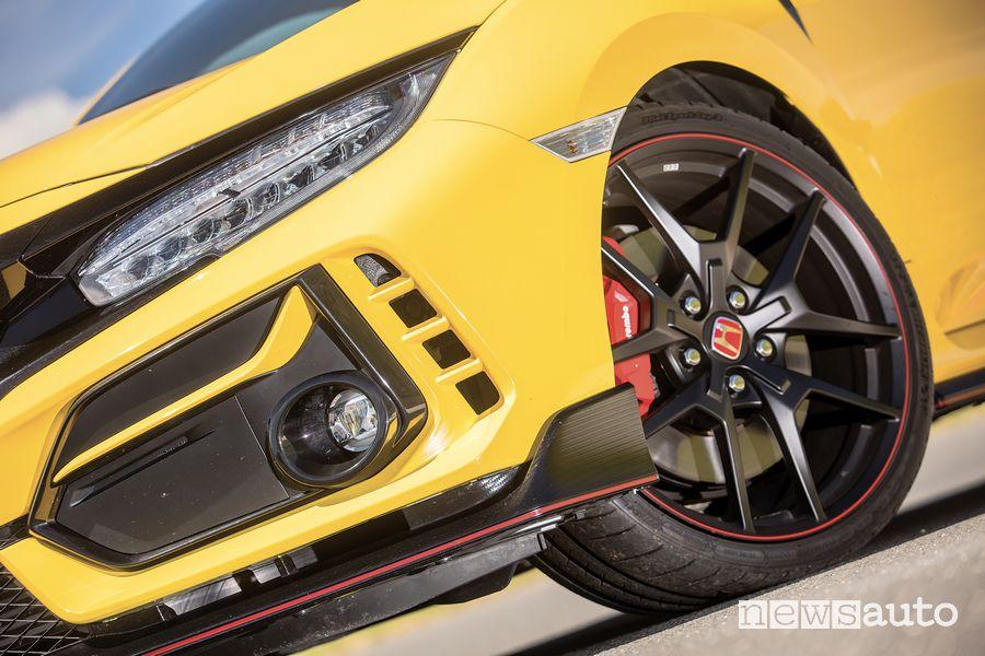 Honda Civic Type R Limited Edition headlight