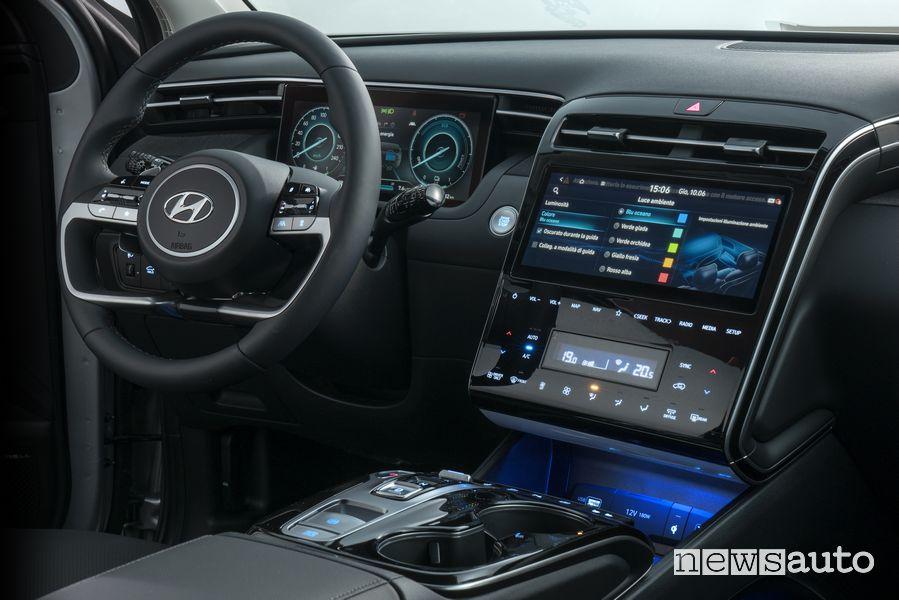 Plancia strumenti abitacolo nuova Hyundai Tucson Plug-in Hybrid