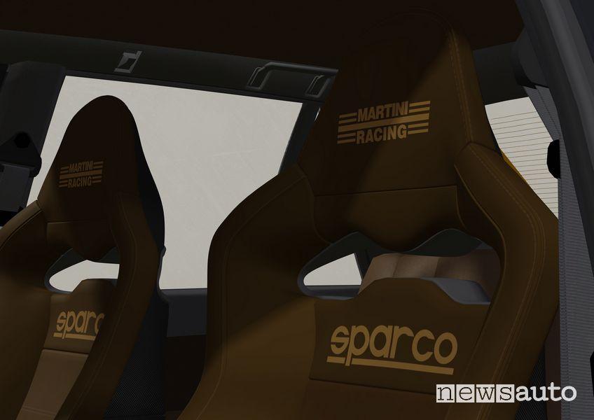 Sedili Sparco Lancia Delta EVO 3 Miki Biasion
