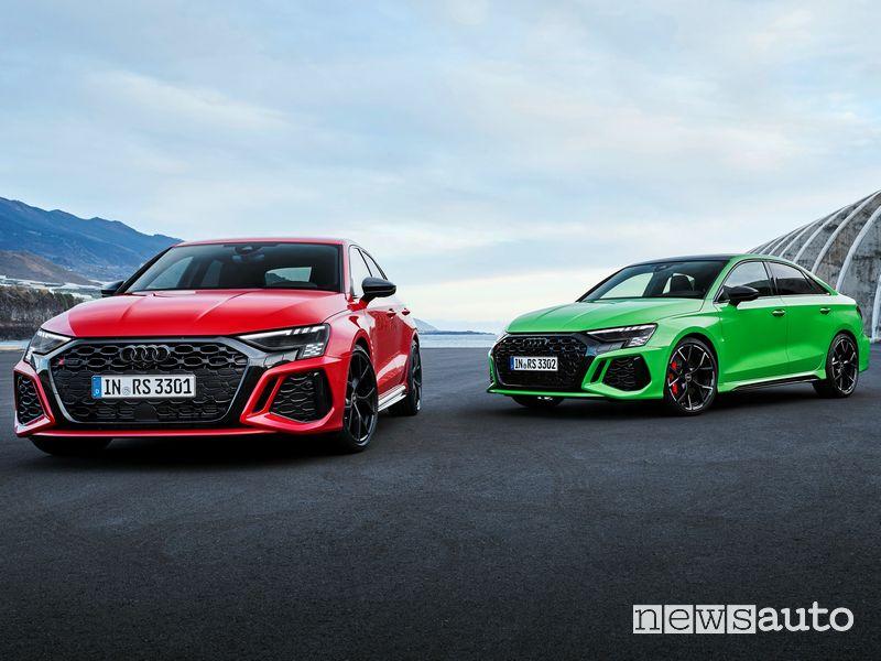 Nuova Audi RS 3 Sportback e Audi RS 3 Sedan