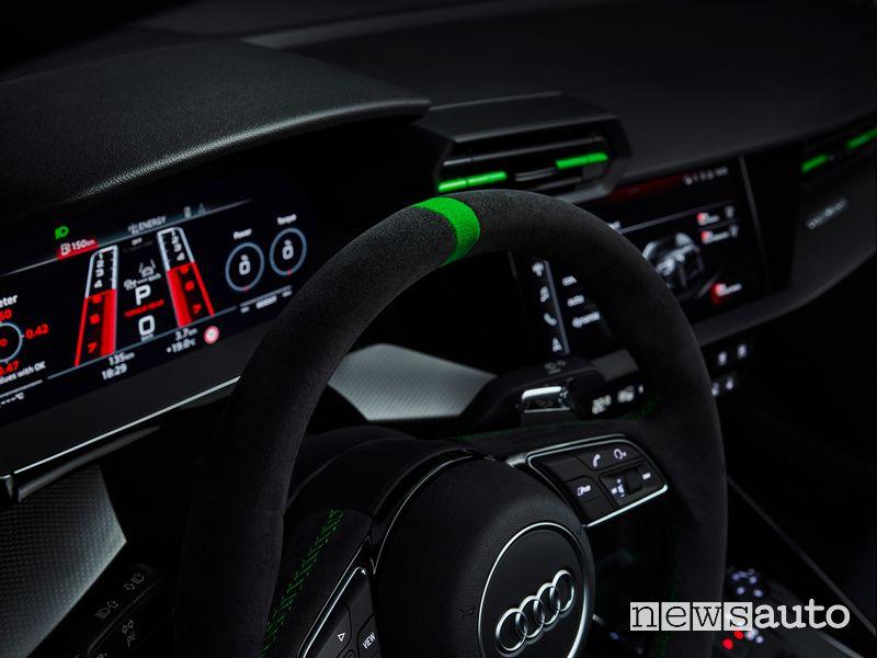 Quadro strumenti abitacolo nuova Audi RS 3 Sedan