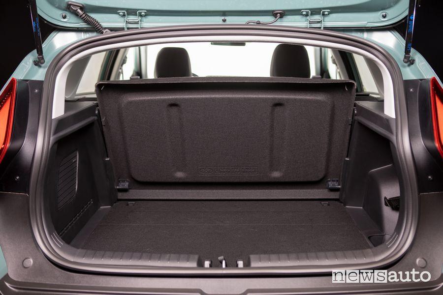 Bagagliaio abitacolo nuova Hyundai Bayon