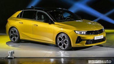Nuova Opel Astra, caratteristiche, versioni, anche ibrida plug-in