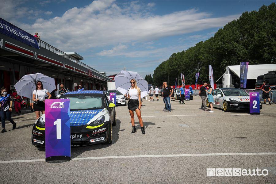Griglia di partenza E-STC Series ad Imola