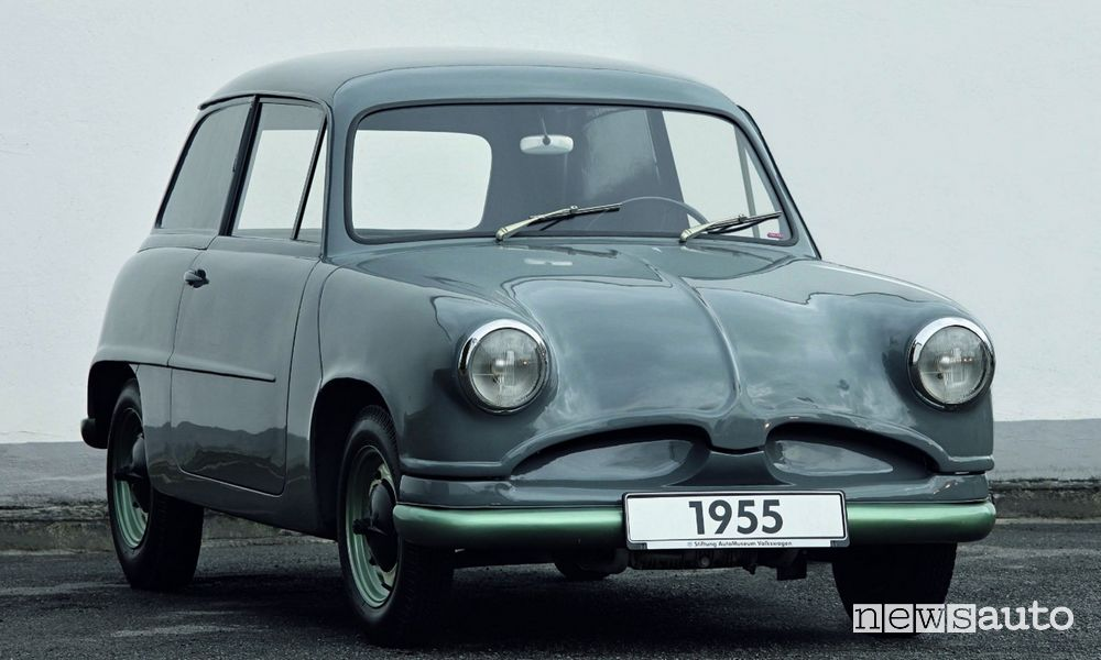 Volkswagen Maggiolino prototipo EA 48 1955