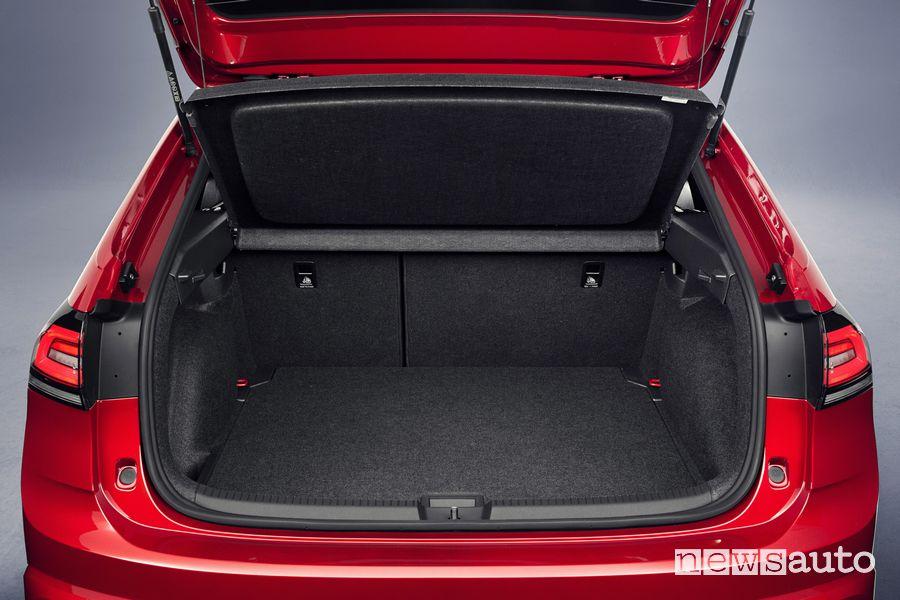 Bagagliaio abitacolo nuova Volkswagen Taigo