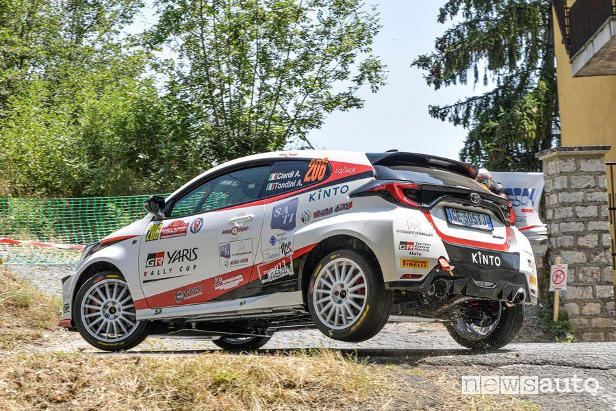 GR Yaris Rally Cup al Rally di Roma 2021