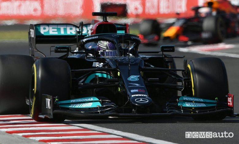 Qualifiche F1 Gp Ungheria 2021, la griglia di partenza