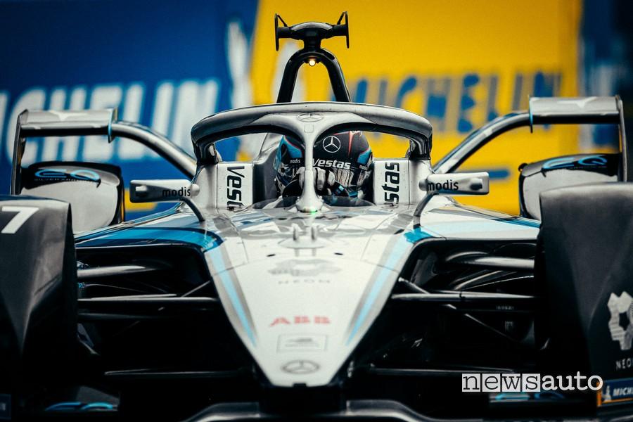 Nyck de Vries MercedesEQ Formula E ePrix Londra gara 2