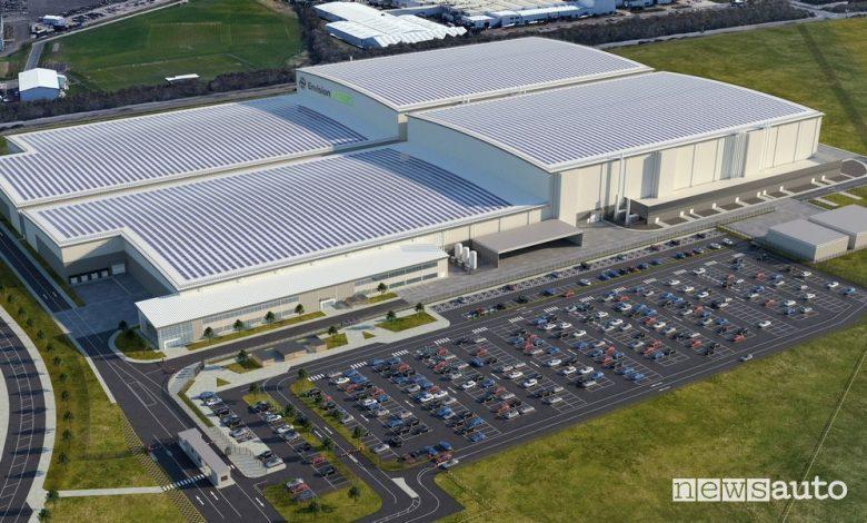 Gigafactory Nissan a Sunderland da 35 GWh