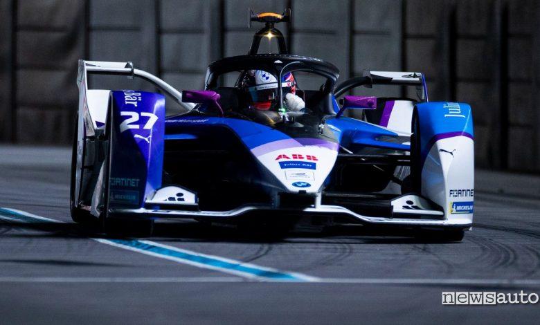 Gara ePrix Londra Formula E 2021 Jake Dennis BMW i Andretti Motorsport
