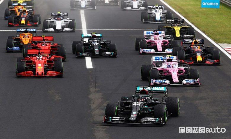 Orari Gp Ungheria F1 2021, diretta SKY e differita TV8