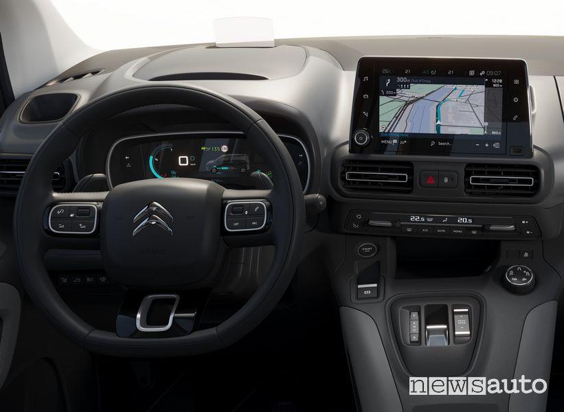 Citroën ë-Berlingo elettrico allestimenti Live, Feel, Feel Pack e Shine