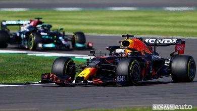 Qualifica Sprint F1 Gp Gran Bretagna 2021, la griglia di partenza
