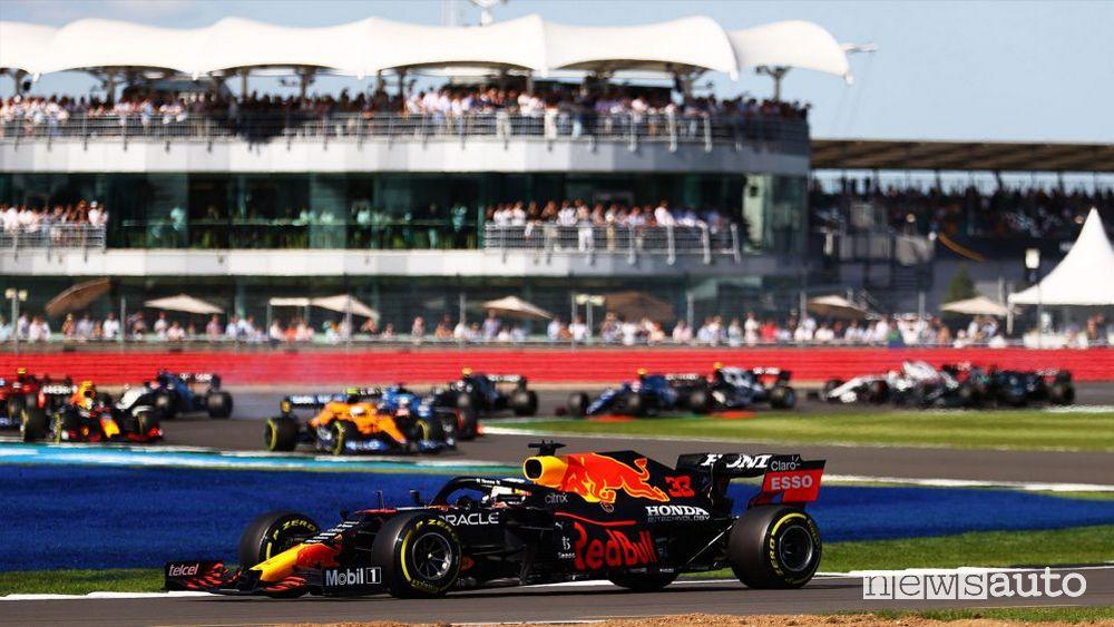 Qualifica Sprint GP Gran Bretagna 2021