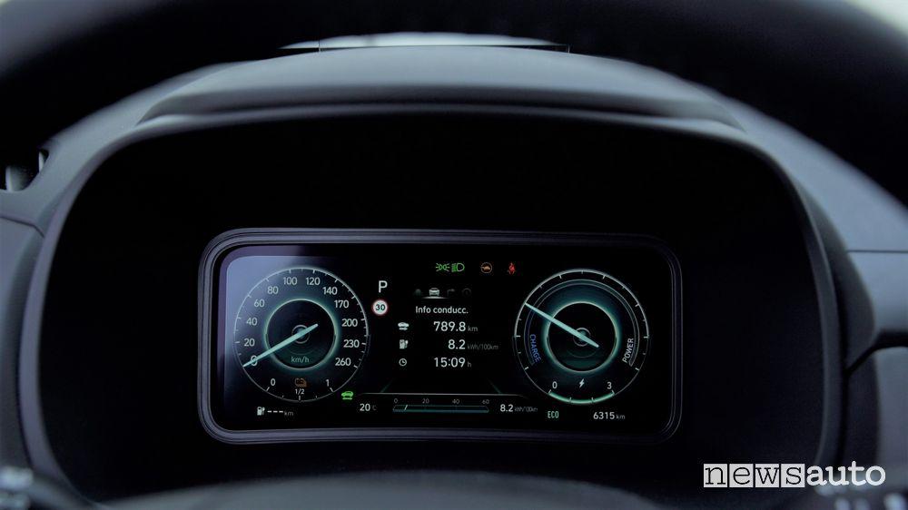 Record autonomia Hyundai Kona elettrica
