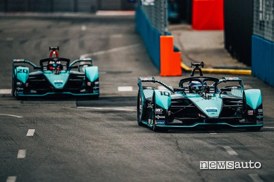 Jaguar Racing Sam Bird gara 2 ePrix New York 2021
