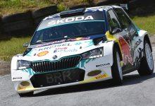 Škoda Fabia elettrica da rally