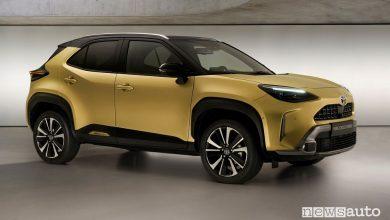 Nuova Toyota Yaris Cross, prezzi, gamma e allestimenti