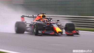Qualifiche F1 Gp Belgio 2021, la griglia di partenza