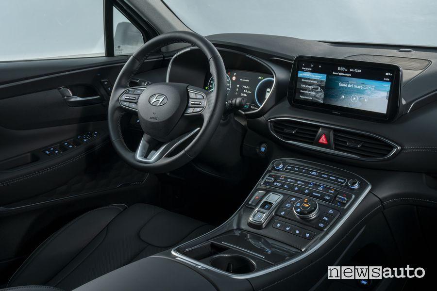Plancia strumenti abitacolo nuova Hyundai Santa Fe Plug-In