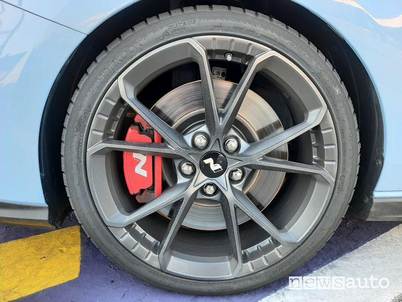 """Cerchi in lega da 19"""" Hyundai i30 N Performance a Monza"""