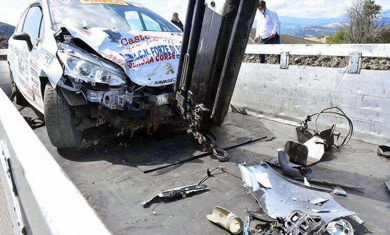 Incidente Rally d'Appennino, morti due spettatori
