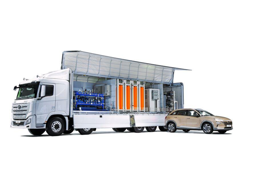 H Moving Station per la ricarica dei veicoli ad idrogeno