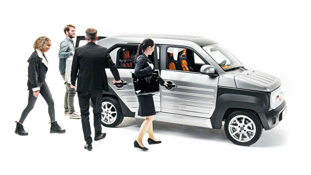 ACM City One trasporto fino a 5 passeggeri