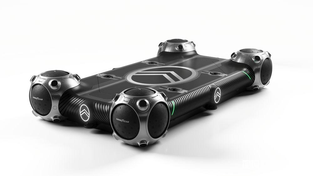Citroën Skate Citroën Autonomous Mobility Vision