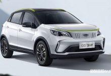 Geely Geometry EX3 auto elettrica economica low cost
