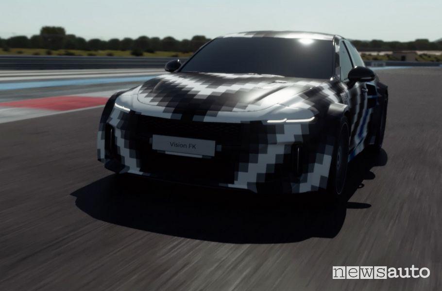 Hyundai concept Vision FK di auto sportiva ad idrogeno