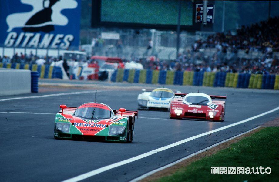 Vittoria Mazda 787B a Le Mans 1991