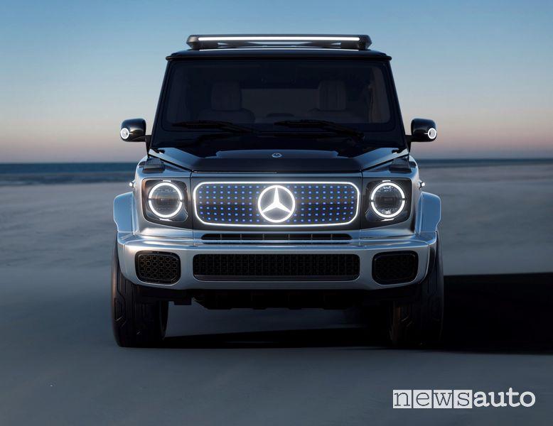 Frontale Mercedes-Benz EQG Concept