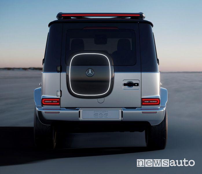 Posteriore Mercedes-Benz EQG Concept