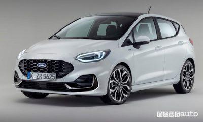 Vista di profilo nuova Ford Fiesta ST Line